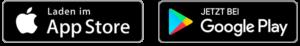 Apple AppStore und GooglePlay Store