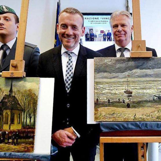 Gestohlene Bilder von van Gogh zurück in Amsterdam