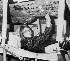 Die Frau, die die Mondlandung rettete