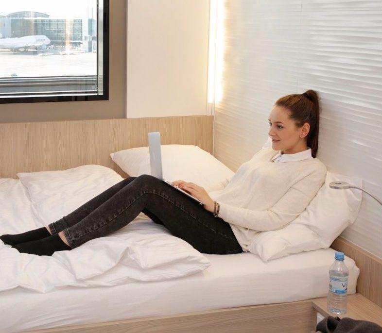 Deutschlands erstes Transithotel in Frankfurt