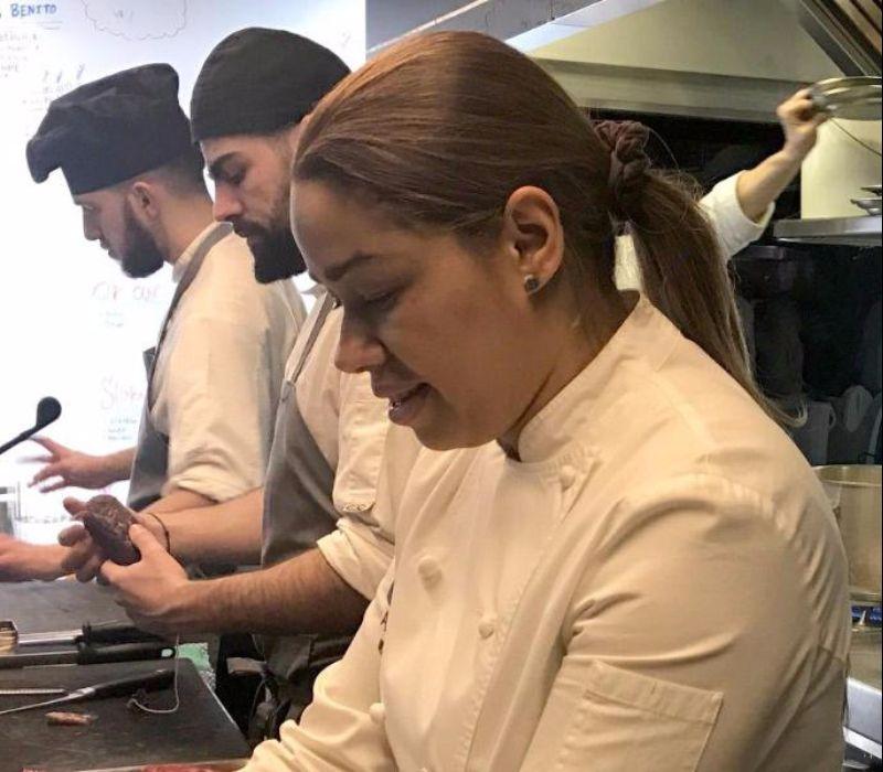 Von der Tellerwäscherin zur Sterne-Köchin