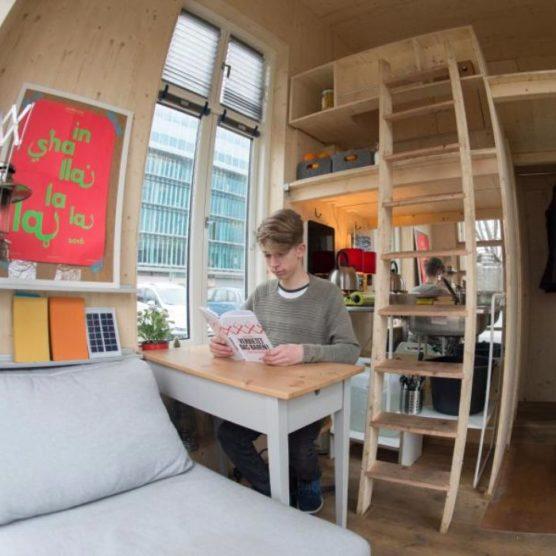Bauhaus-Campus entwickelt 100-Euro-Wohnung