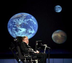 Völlig losgelöst: Stephen Hawking