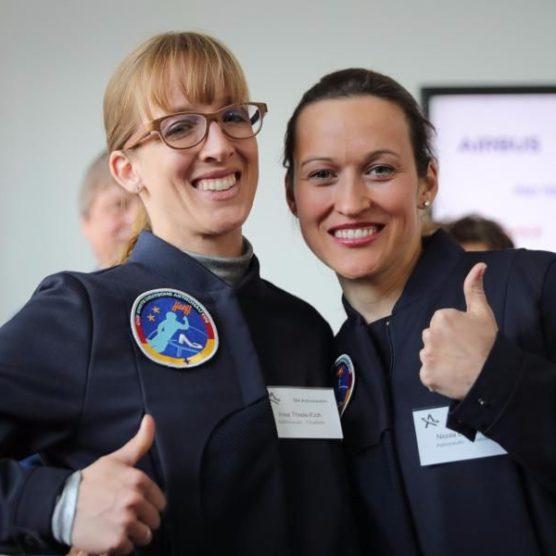 Deutschlands erste Astronautin