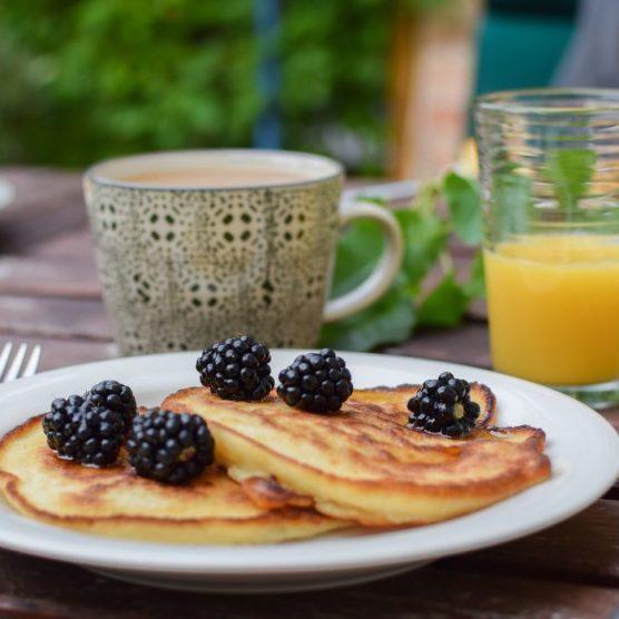 Süßes ohne Reue: Pancakes