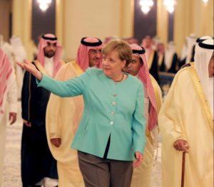 Merkels Wechselbad am Roten Meer