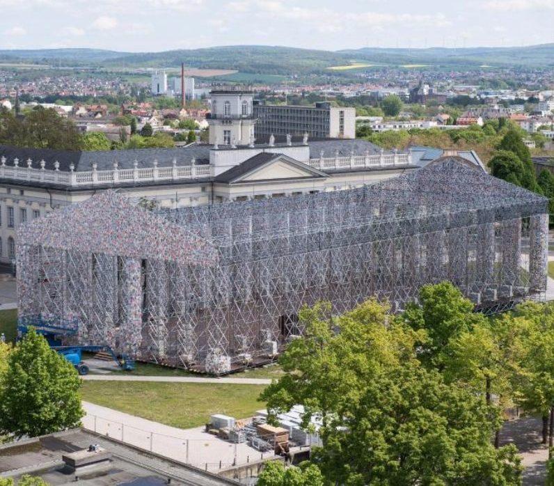 Parthenon der Bücher – documenta zum Mitmachen