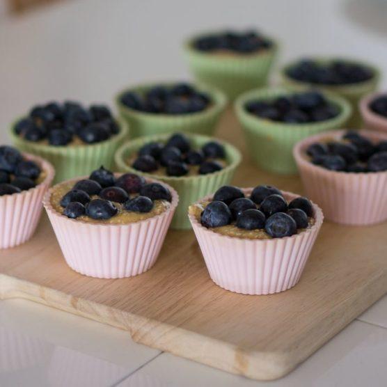 Süßes ohne Reue: Heidelbeer-Gratins