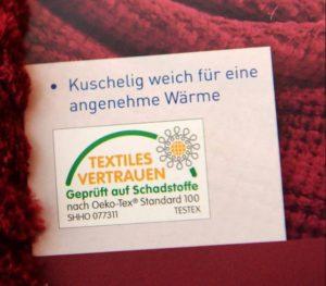 Weniger giftige Chemikalien in Kleidung