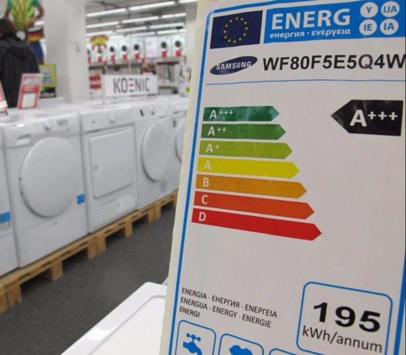 Vereinfachung der Energieeffizienzklasse