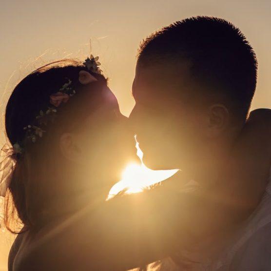 Küssen für die Gesundheit