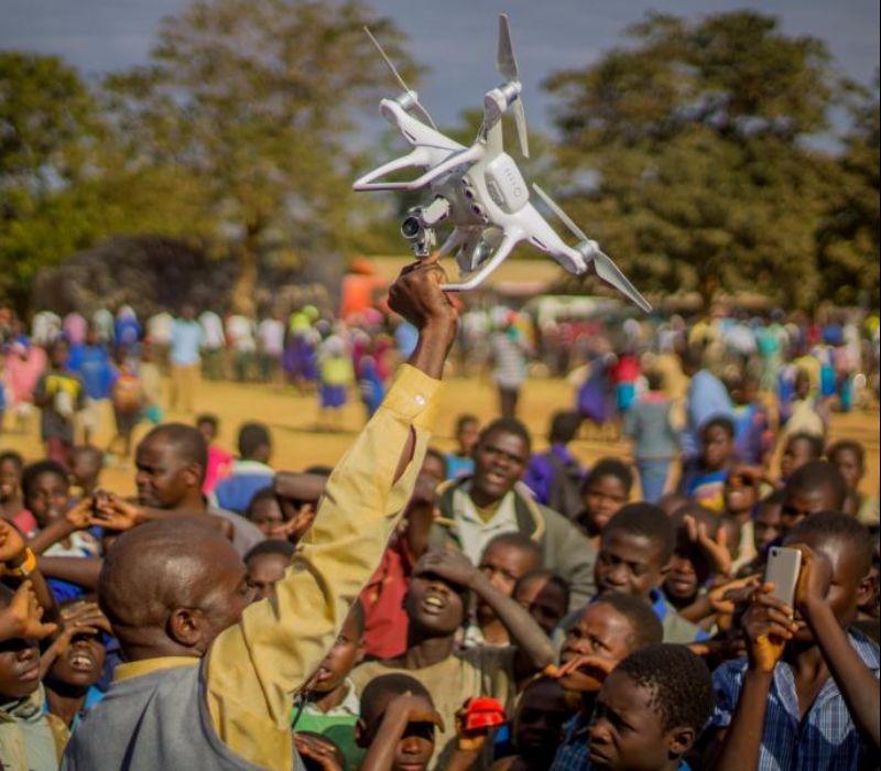 Drohnenkorridor für humanitäre Hilfe in Malawi