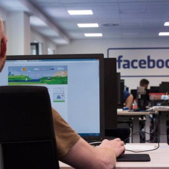 Alltag im Löschzentrum von Facebook