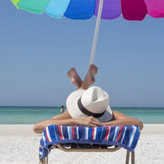 Relaxed trotz Sonnenallergie