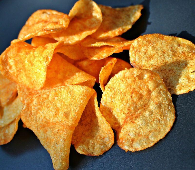 Kartoffelchips selbst gesund zubereiten