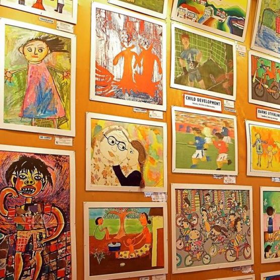 Junge Kunst - Wie sehen Kinder die Welt?
